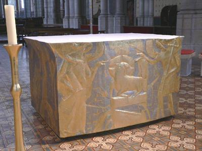 Autel de la cathédrale de Belley (Ain)