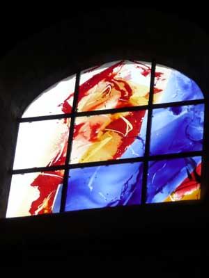 Vitrail de la Basilique Saint Julien de Brioude (43)
