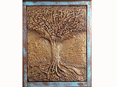 L'arbre de Jessé « Un rameau sortira de la souche de Jessé, un rejeton jaillira de ses racines. Sur lui reposera l'Esprit du Seigneur esprit de sagesse et de discernement, esprit de conseil et de vaillance, esprit de connaissance et de crainte du seigneur. » (Esaïe 11, 1-2)
