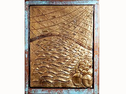 Les quatre premiers disciples « Maître, nous avons peiné toute la nuit sans rien prendre ; mais, sur ta parole, je vais jeter les filets. » Ils le firent et capturèrent une grande quantité de poissons : leurs filets se déchiraient. » (Luc 5, 5-6) « Comme il passait le long de la mer de Galilée, il vit Simon et André, le frère de Simon, en train de jeter le filet dans la mer : c'étaient des pêcheurs. Jésus leur dit : « Venez à ma suite, et je ferai de vous des pêcheurs d'hommes . » Laissant aussitôt leurs filets, ils le suivirent. » (Marc 1, 16-17-18).