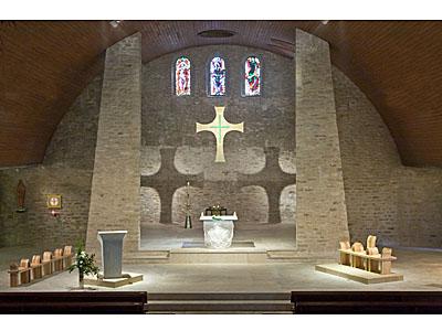 Eglise Notre Dame d'Urville-Nacqueville, après le réaménagement