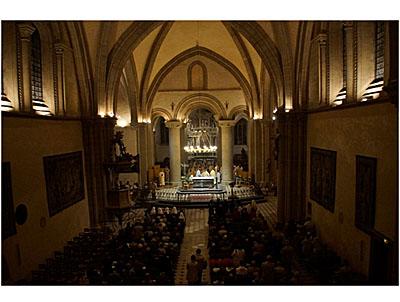 Lustre de la Cathédrale de la Sainte Trinité à Laval