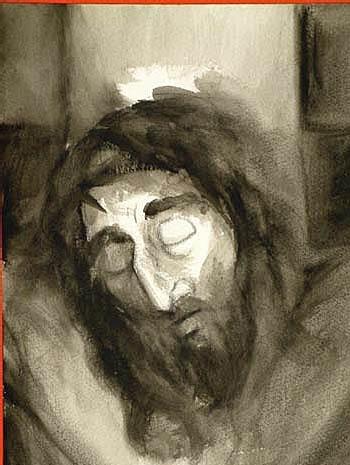 Station XII - Jésus meurt sur la Croix