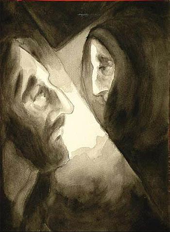 Station IV - Jésus rencontre sa mère