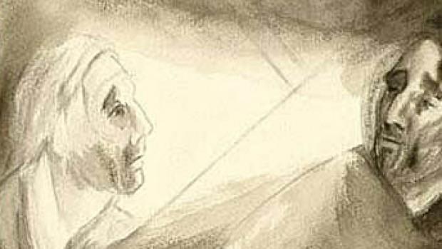 Station V - Jésus rencontre Simon de Cyrène