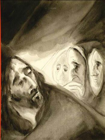 Station VIII - Jésus et les femmes de Jérusalem