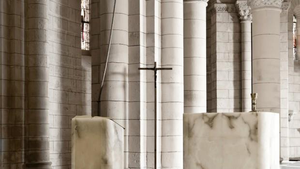 Ambon de l'Eglise Saint Hilaire de Melle