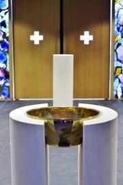 Baptistère de la cathédrale Notre-Dame de Créteil