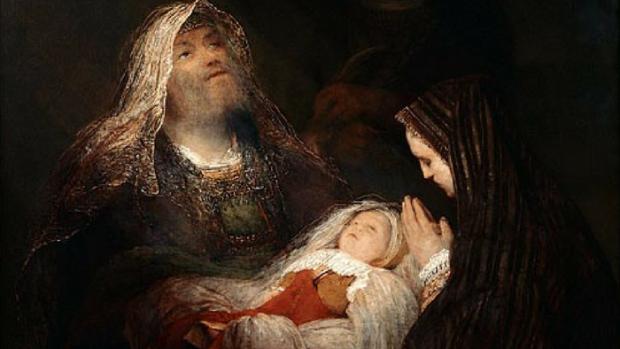 La prière de Siméon, Aert de Gelder, 1700–1710