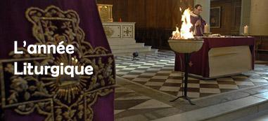 06 février 2008: Le buis brûlé dans le brasero sera recueilli pour les cendres, messe des cendres à l'égl. Saint-Denys du Saint-Sacrement, Paris (75), France.