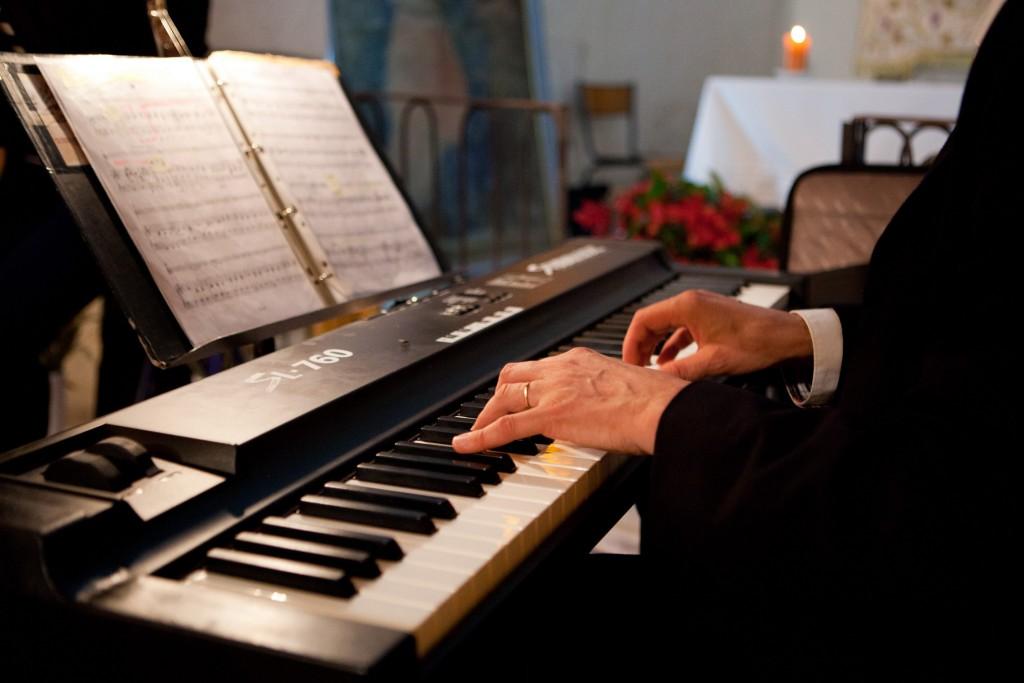 Orgue - piano, mains