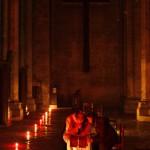 24 mars 2008:  Sacrement de réconciliation dans la cath. de Chartres (28), France.
