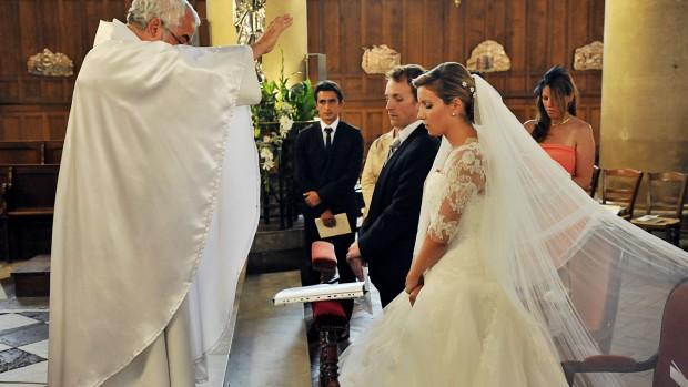 Mariage - bénédiction des époux