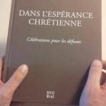 Dans l'espérance chrétienne