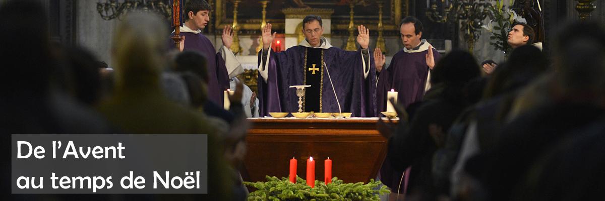 01 décembre 2013 : Messe du premier dimanche de l'Avent célébrée par le Père François GONON, curé de la paroisse Saint-Nicolas-des-Champs. Paris (75), France.  December 1st, 2013: Mass of the first Advent Sunday, celebrated by Father François GONON, in Saint-Nicolas-des-Champs. Paris (75), France.
