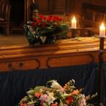 31 août 2006: Cercueil, funérailles à l'égl. saint Martin de Sucy en Brie (94), France.