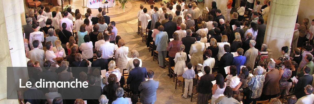 dimanche temps liturgique