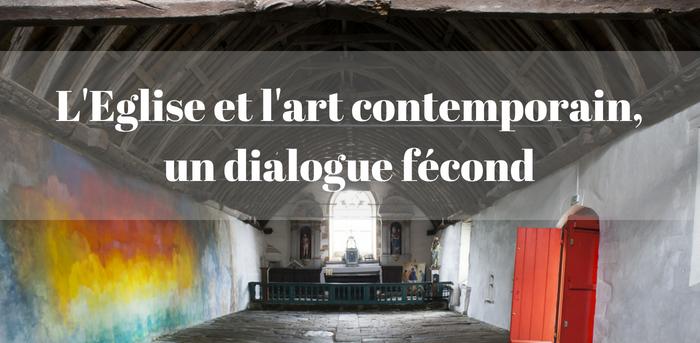 L'Eglise et l'art contemporain page Art Sacré