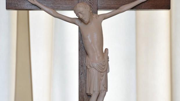 Crucifix du Monastère des bénédictines à Saint-Thierry (51)