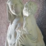 Vierge à l'enfant - Abbaye bénédictine de Saint-Thierry (51)