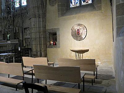Le tabernacle de la chapelle Saint Michel de Limoges.