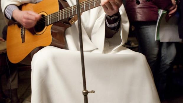 guitare et musicien