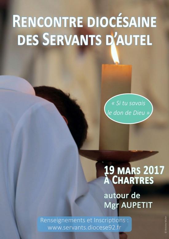 Rassemblement diocésain servants Nanterre