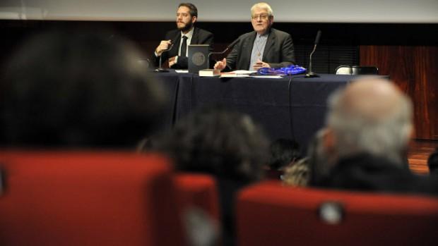21 novembre 2013 : Lancement de la nouvelle traduction officielle liturgique de la Bible, publiée par les évêques catholiques francophones. Paris (75), France.