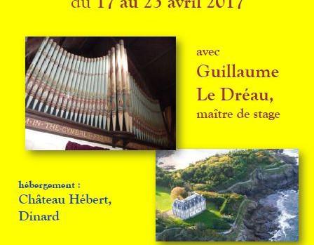 stage orgue 2017 dinard