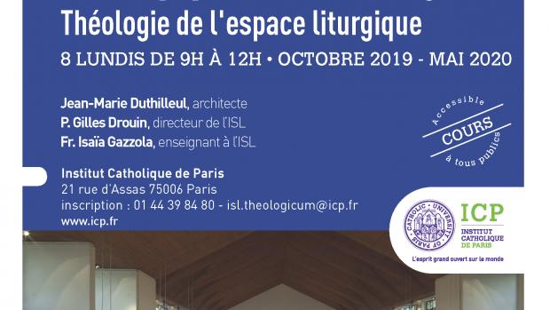 Flyer espace liturgique 2019 2020