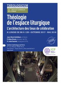 Pages de Théologie de l'espace de célébration, 8 lundis-2