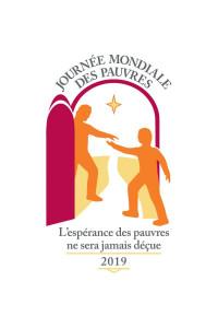 Logo de la Journée mondiale des pauvres 2019.