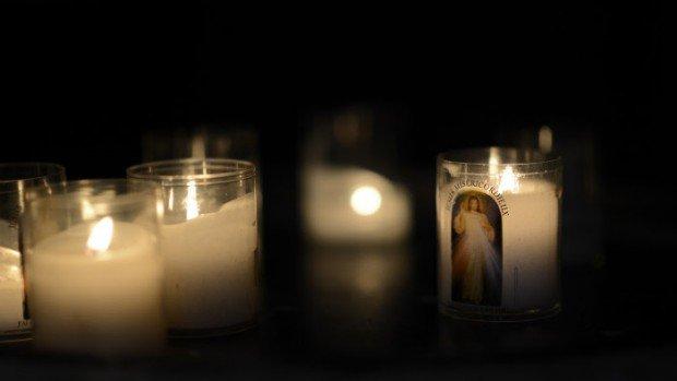 24 février 2013 : Offrandes lumineuses à St Nicolas-des-Champs, Paris (75), France.