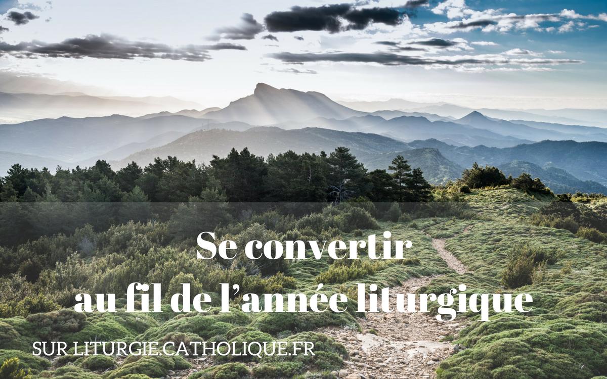 Visuel Année liturgique et conversion