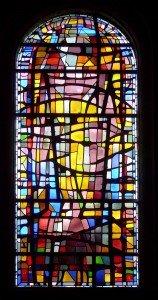 Vitrail Nord de l'église des Bréseux