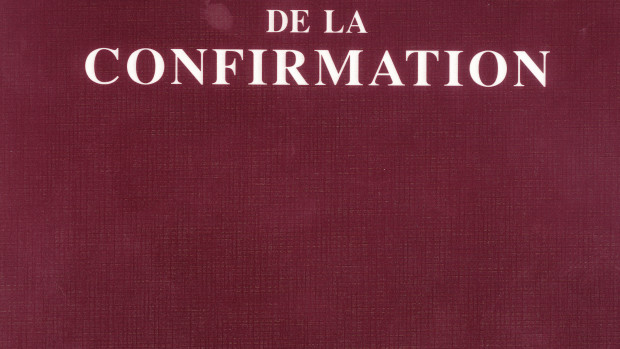 Rituel de la confirmation