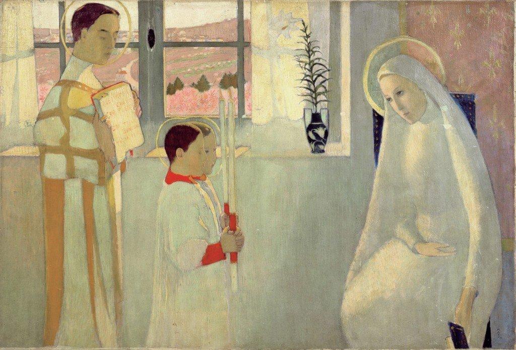 Mystère catholique ou Annonciation de 1890, Maurice Denis