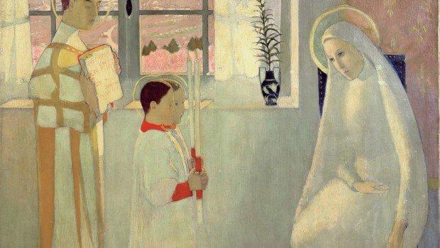 Mystère catholique ou Annonciation de 1889, Maurice Denis
