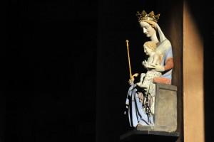 Vierge à l'Enfant Cathédrale Sainte Geneviève. Nanterre