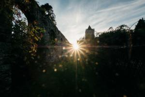22 septembre 2017 : Abbaye Très Sainte Trinité de La Lucerne. La Lucerne d'Outremer (50), France.