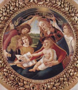 La Madone du Magnificat Botticelli