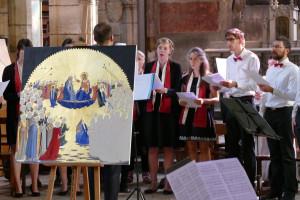 Messe Laudato Si' pour la création à la Basilique de Fourvière.