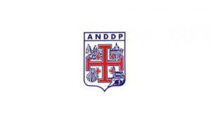 Logo de l'Association nationale des directeurs diocésains de pèlerinages