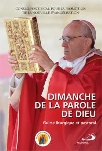 « Dimanche de la Parole de Dieu », guide liturgique et pastoral par en janvier 2020.