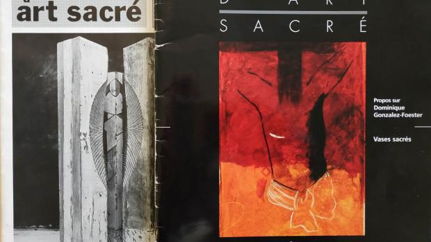 Chroniques d'Art sacré, une revue fondée par Renée Moineau en 1985.