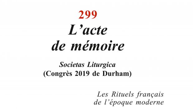 La Maison-Dieu 299, éd. Cerf.