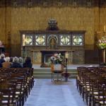 7 octobre 2015 : Messe de funérailles. Egl. Saint-Jean-de-Montmartre. Paris (75) France.