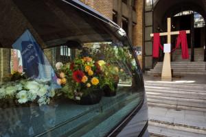 Covid-19, funérailles à Paris (75), France.