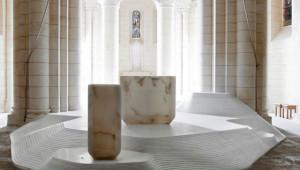 Saint Hilaire de Melle, aménagement liturgique par Mathieu Lehanneur