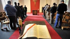 Bible lors célébration